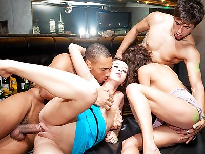 Ultra-kinky party porno with fully badass chicks