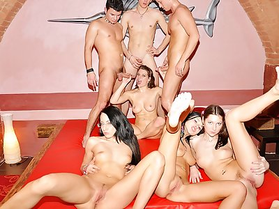 Amazing college Dp party bang-out scene